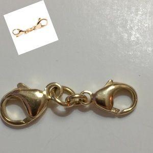 Trollbeads Double Clasp Lock 14K Gold